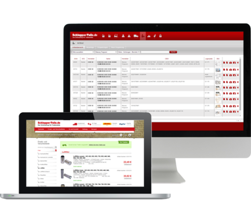 Extranet & Onlineshops